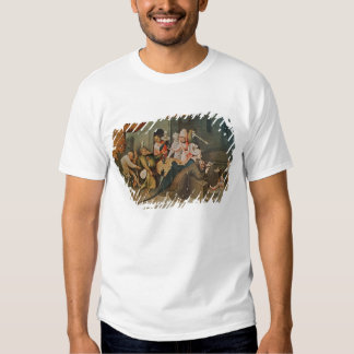 Triptych of the Temptation of St. Anthony T Shirts