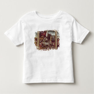 Triptych of the Temptation of St. Anthony Toddler T-Shirt