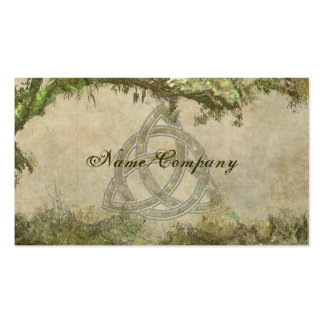 Triquetra Natural Pack Of Standard Business Cards