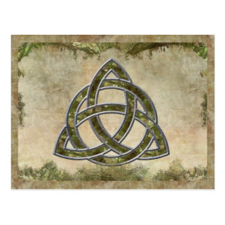 Triquetra Natural Postcard
