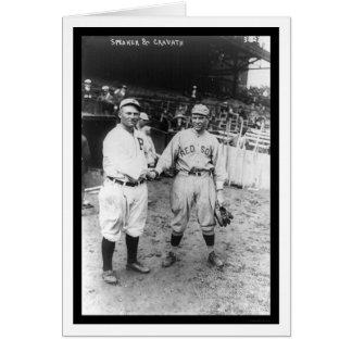 Tris Speaker Red Sox Baseball 1915 Card