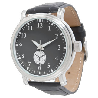 Trisected chrysanthemums wristwatches