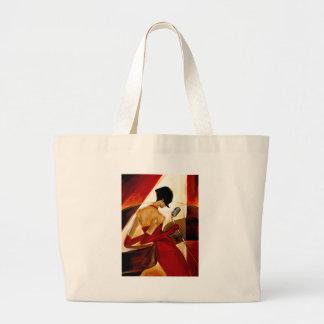 Trish Biddle Fever Large Tote Bag