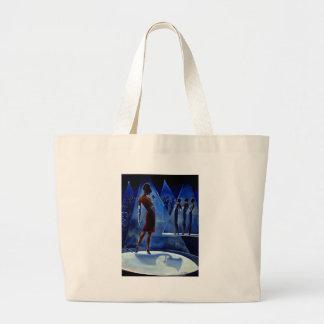 Trish Biddle Glammys Large Tote Bag