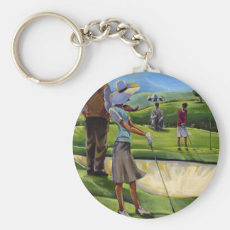 Trish Biddle - Ladies Golf Key Ring