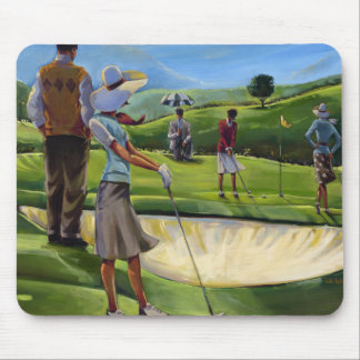 Trish Biddle - Ladies Golf Mouse Mat
