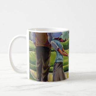 Trish Biddle - Ladies Golf Basic White Mug