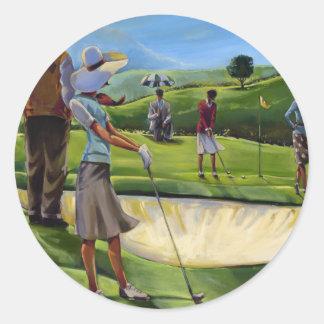 Trish Biddle - Ladies Golf Stickers