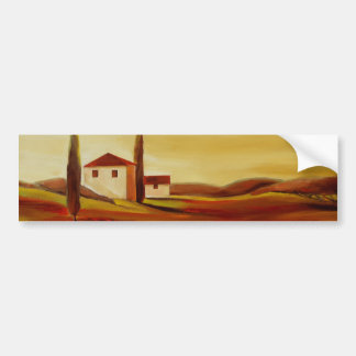 Trish Biddle Tuscany Series Bumper Sticker