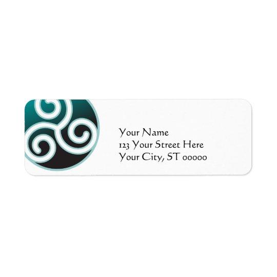Triskele Celtic Spiral