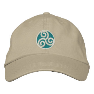 Triskele Celtic Spiral Embroidered Hat