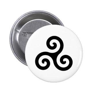 Triskelion Buttons