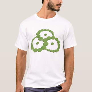 """""""Triskelion"""" Crop Circle T-Shirt"""