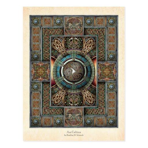 Triskelion Mandala II Postcard
