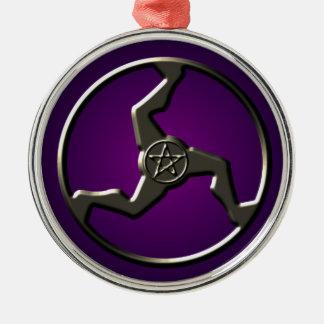 Triskelion Pentacle Lucky Charm Ornament