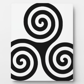 Triskelion Photo Plaques