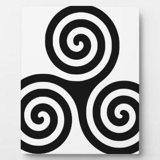 Triskelion Plaque