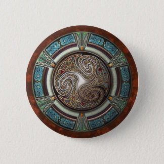 Triskelion Round Button