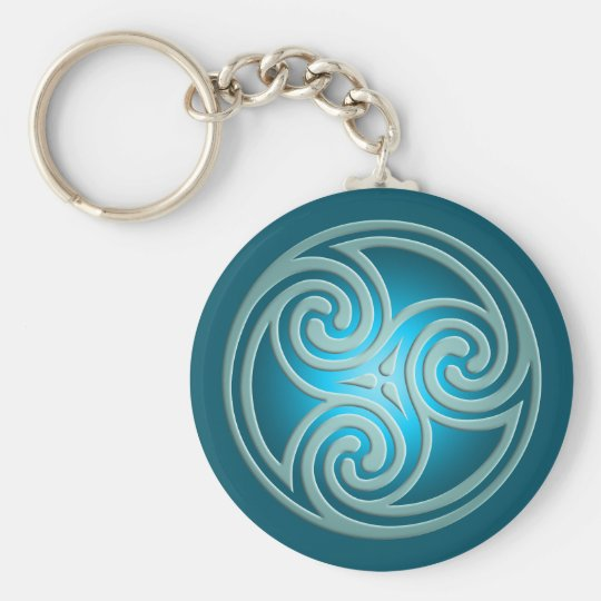 Triskelion Symbol CC0346 Keychain