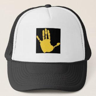 triskelion trucker hat