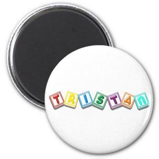 Tristan 6 Cm Round Magnet