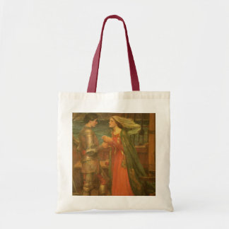 Tristan and Isolde by Waterhouse, Vintage Fine Art Bag