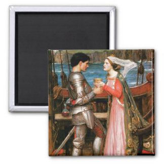 Tristan and Isolde Square Magnet