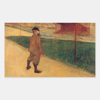 Tristan Bernard by Toulouse-Lautrec Stickers