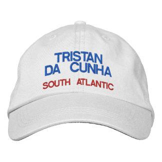 Tristan da Cunha* Island Hat Embroidered Hats