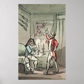 Tristram Shandy, 1786 Poster