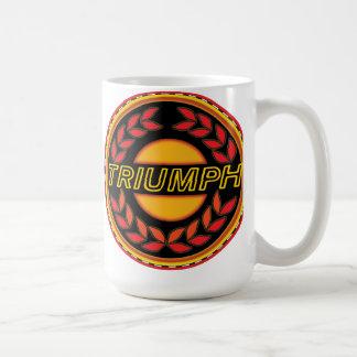 Triumph Cars wreath Basic White Mug
