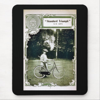 Triumph Cycles 1907 Lady's Standard No. 24 Mouse Pad