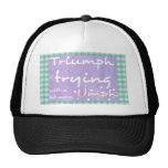 Triumph is trying with a bit more umph mesh hats
