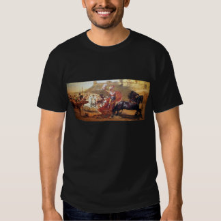 Triumph of Achilles - fresco at Corfu - Achellion Tshirts