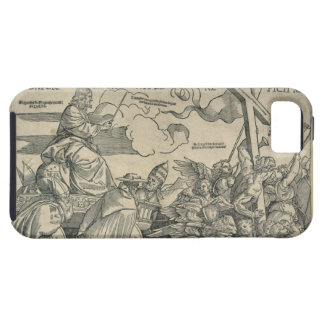 Triumph of Christ (wood engraving) iPhone 5 Cases