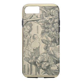 Triumph of Christ (wood engraving) iPhone 8/7 Case