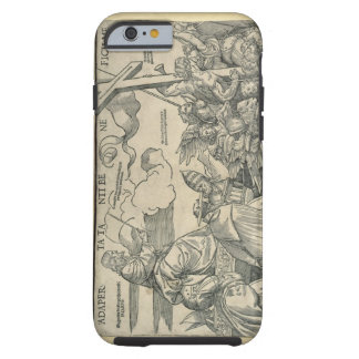 Triumph of Christ (wood engraving) Tough iPhone 6 Case