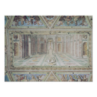 Triumph of Christianity, from the Raphael Rooms Poster