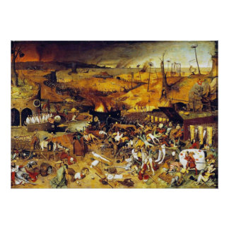 Triumph of Death (by Pieter Bruegel) Poster