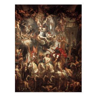 Triumph of Frederik Hendrik by Jacob Jordaens Postcard