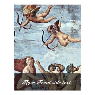 Triumph Of Galatea Detail  By Raffael Flyer