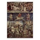 Triumph Of Minerva By Francesco Del Cossa Card