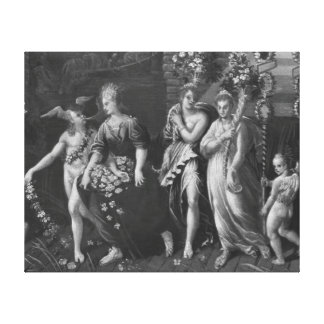 Triumph of Spring Canvas Print