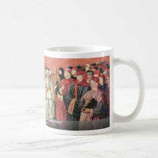 Triumph Of St. Thomas Aquinas On Averroes Detail Basic White Mug