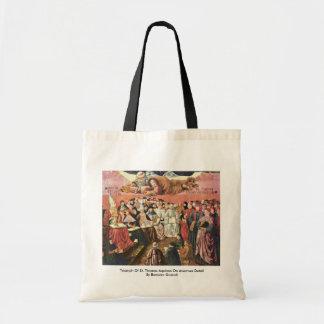 Triumph Of St. Thomas Aquinas On Averroes Detail Tote Bag