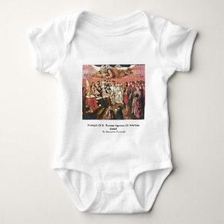 Triumph Of St. Thomas Aquinas On Averroes Detail Tshirt