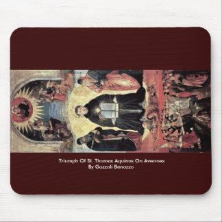 Triumph Of St. Thomas Aquinas On Averroes Mousepad