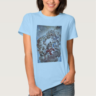 Triumph Of The Medici In The Clouds Of Mount Olymp Tee Shirt