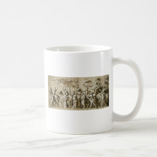 Triumph of Wealth by Hans Holbein the Younger Basic White Mug
