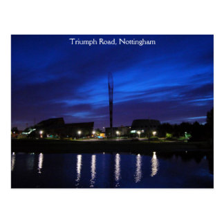 Triumph Road, Nottingham Postcard